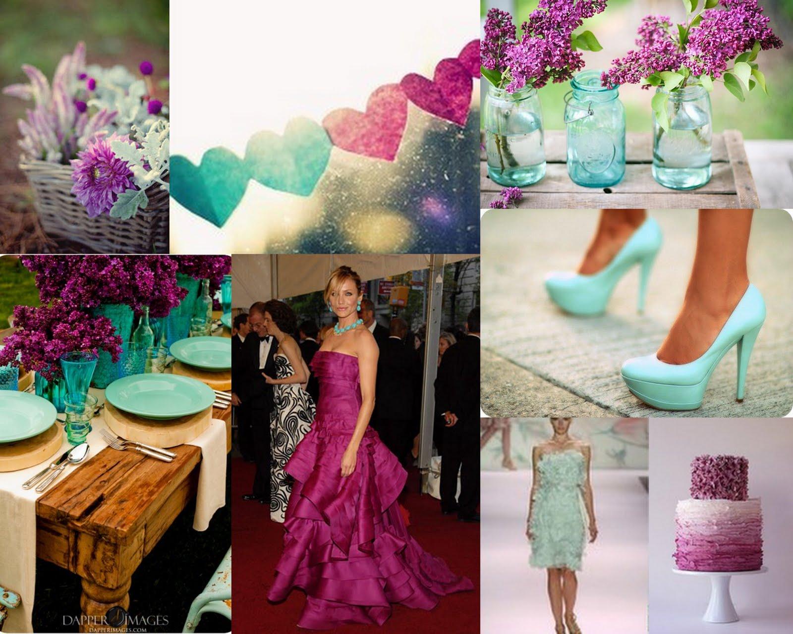 Teal And Purple Wedding Ideas: Charleston, Myrtle Beach & Hilton