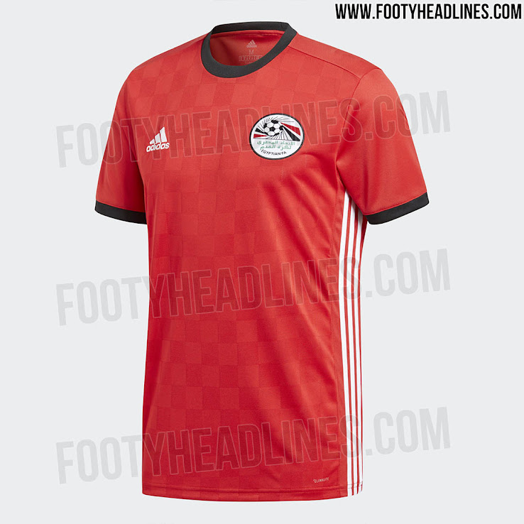 4fb4d838a Official  Egypt 2018 World Cup Kit Revealed - Footy Headlines