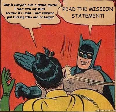 Batman Mission Statement