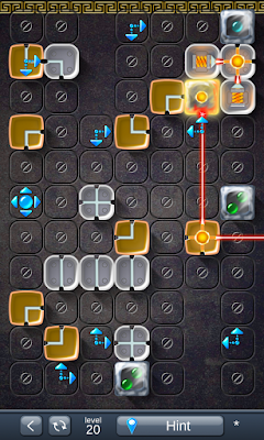 Solution for Laser Box - Puzzle (Royal) Level 20