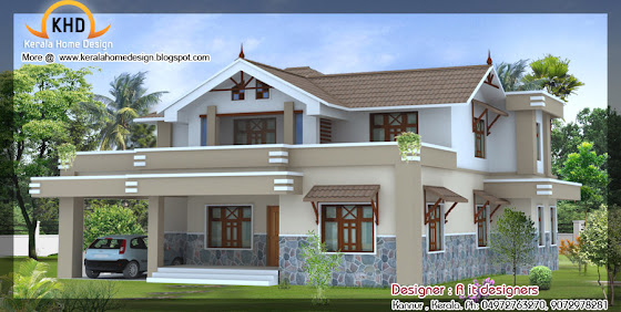 Beautiful Home Elevation Design - August 2011