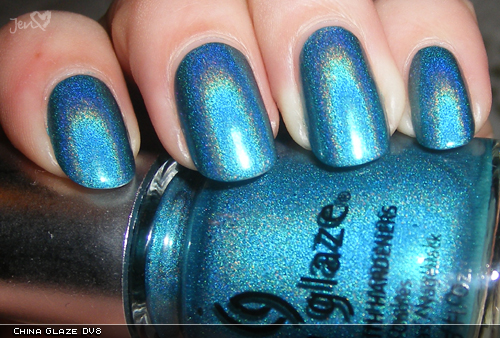 xoxoJen's swatch of China Glaze DV8