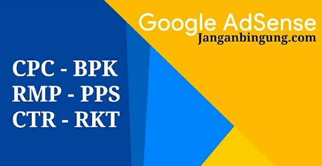 Mengenal Apa itu BPK, RKT, PPS atau CPC, CTR, RPM di Adsense