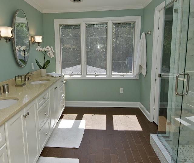 Pretty Inspirational: Recent Project: Pretty Bathroom