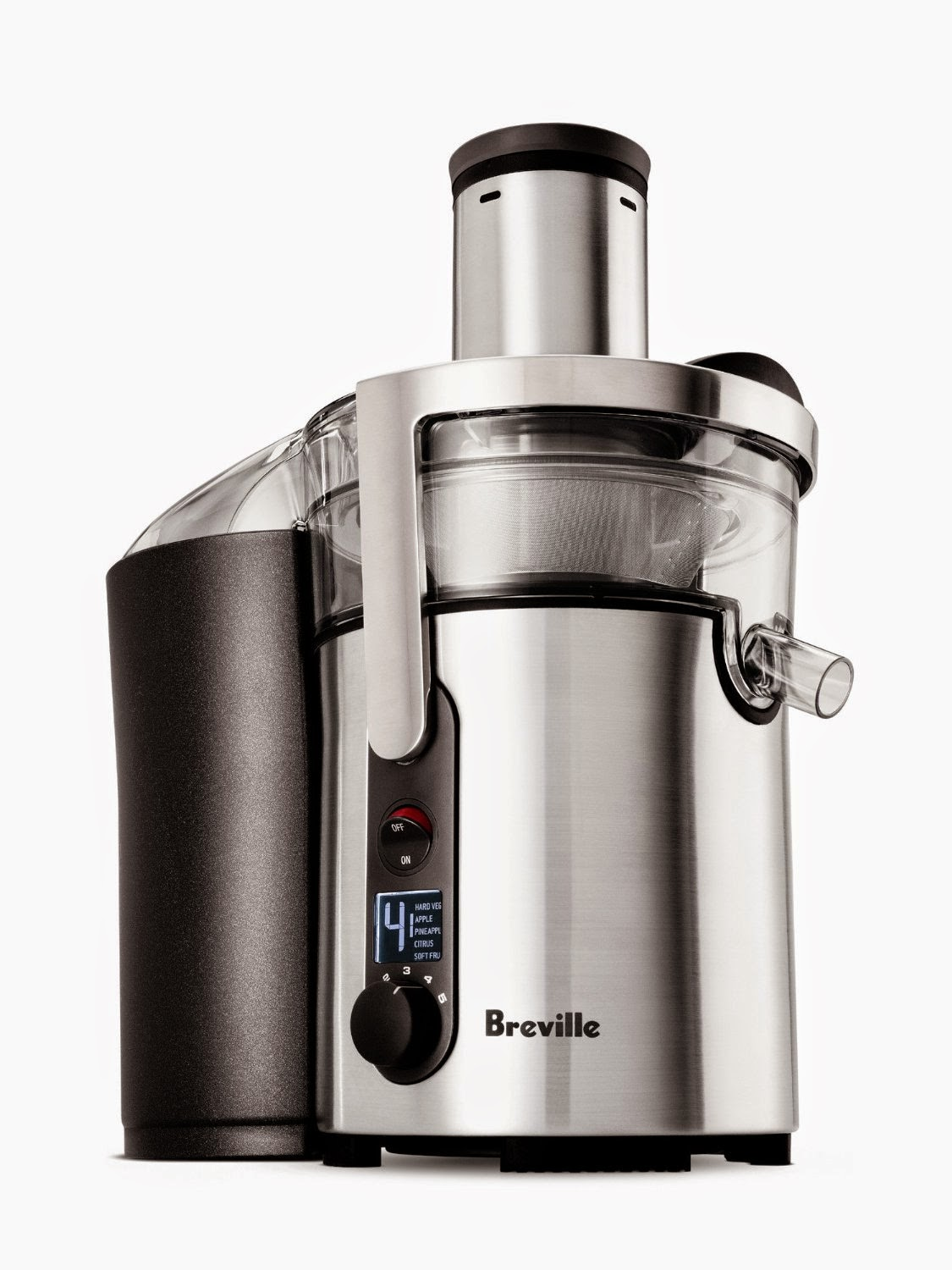 Breville BJE510XL Juice Fountain Multi-Speed 900-Watt Juicer, picture, image, review features and specifications