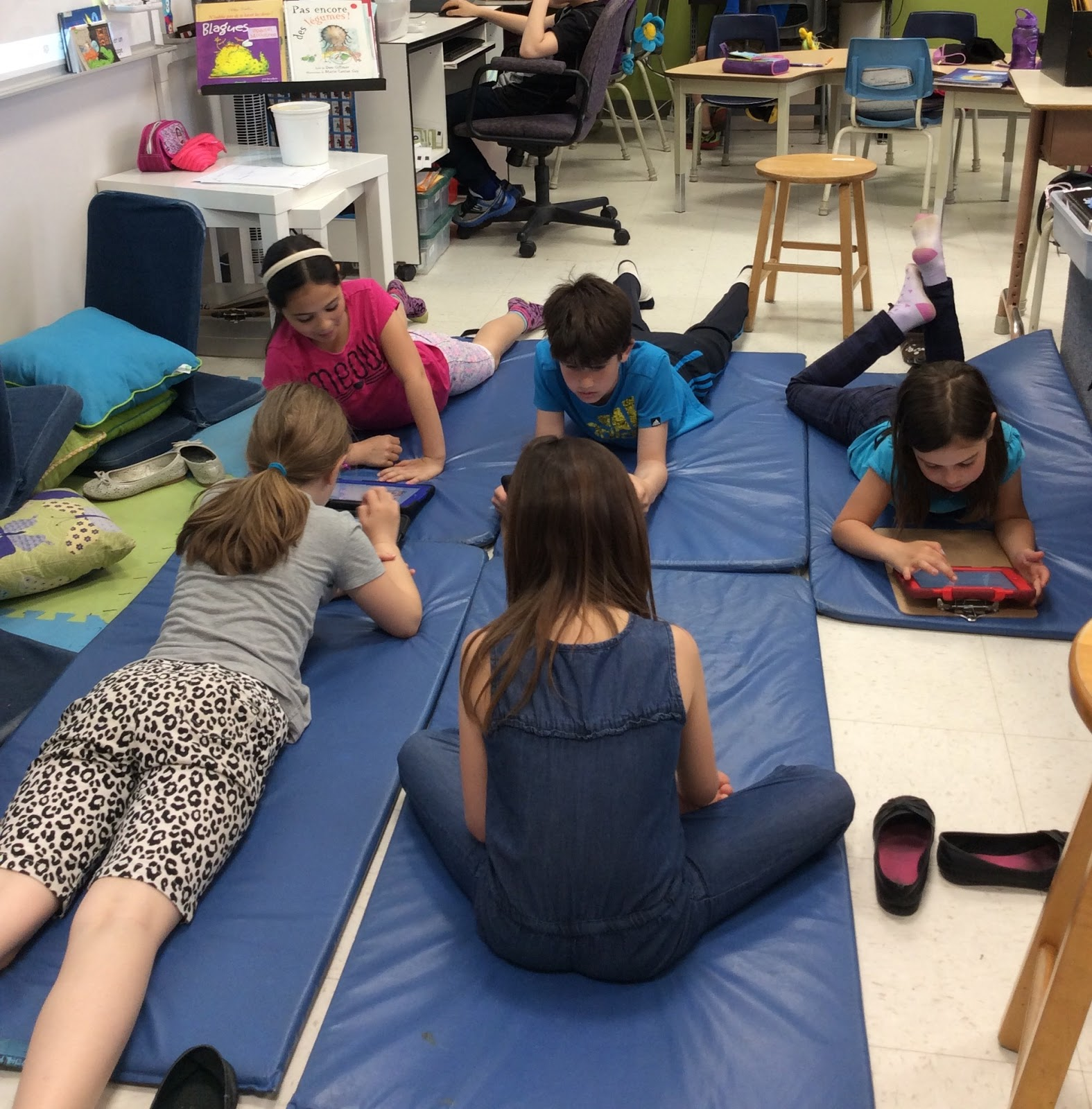 La Classe De Josee Flexible Seating