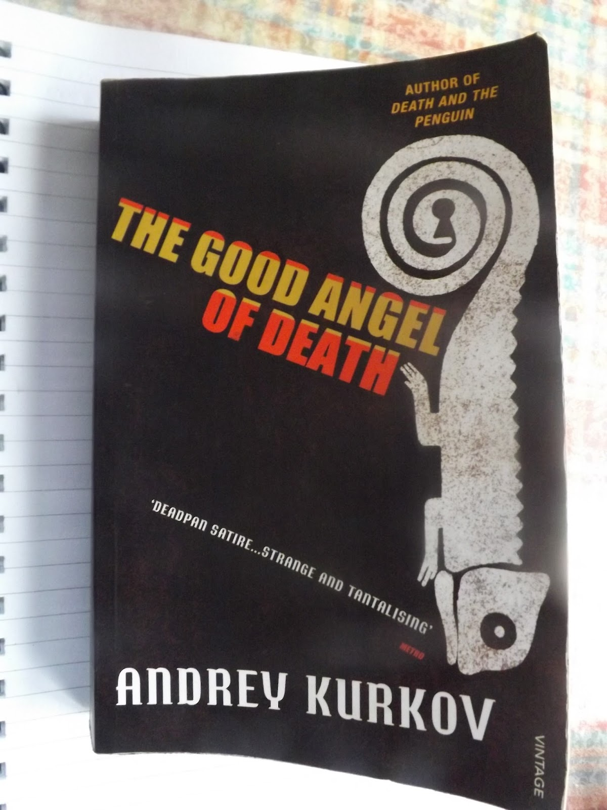 My review of 'The Good Angel of Death' by Andrey Kurkov