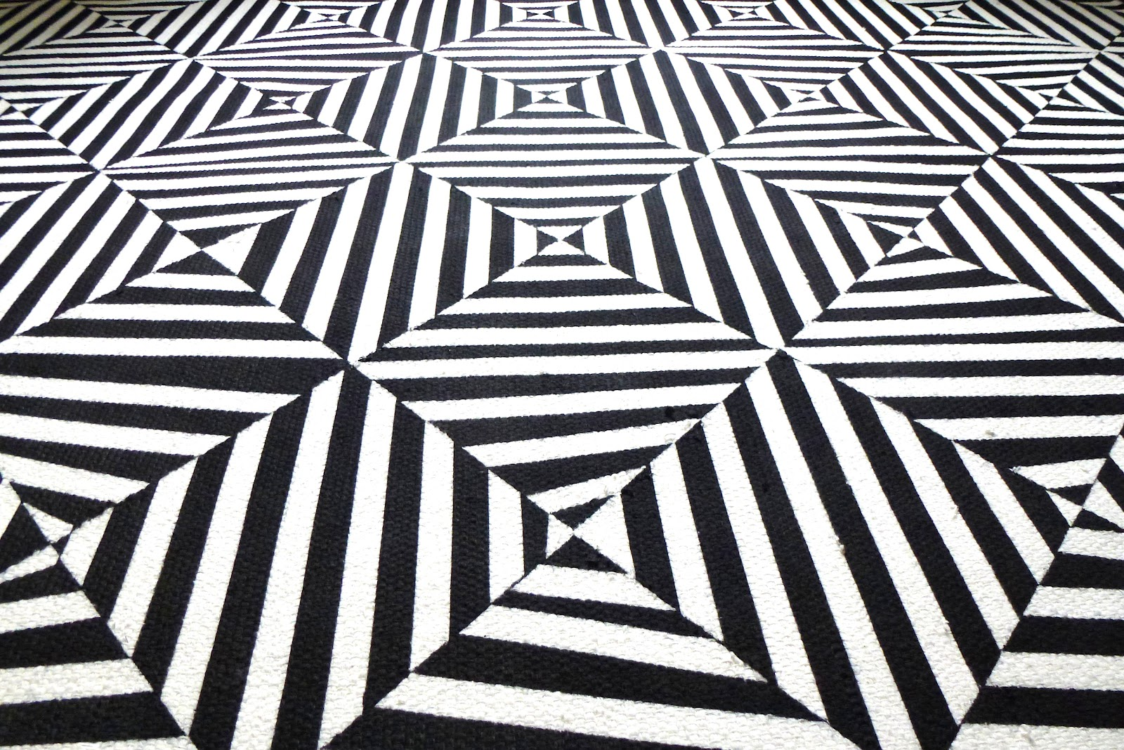 Adventures of an almost 40 year old intern d not - Black and white rug ...