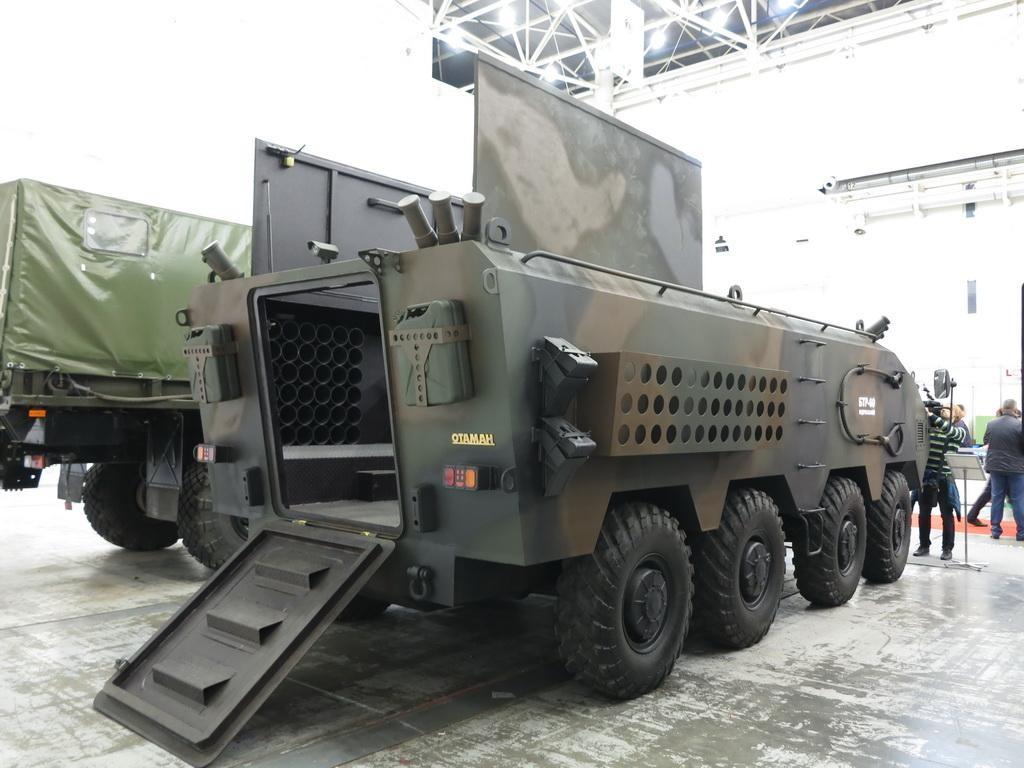 120-мм міномет «Отаман» 8х8