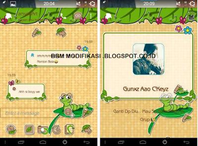 BBM Mod Ulat Theme Versi 3.1.0.13 apk
