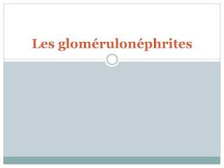 Les glomérulonéphrites.pdf