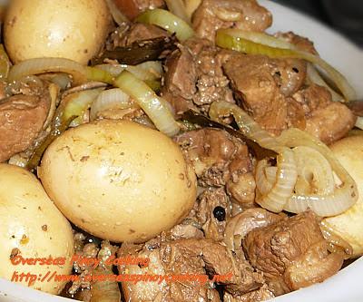 Liver and Egg Adobo