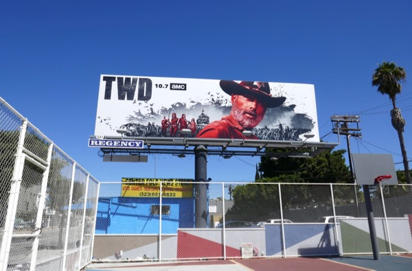 TWD season 9 billboard