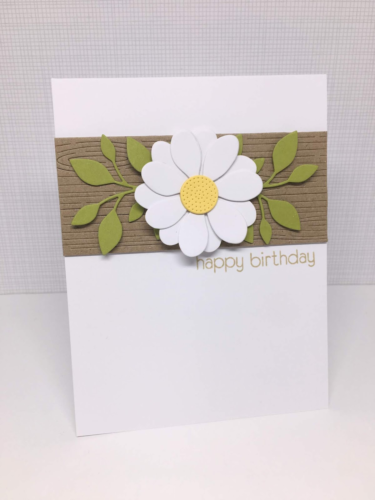 Im in haven birthday flower cards daisies and sunflowers are her favorite flowers so i chose a couple daisy looking dies and my favorite sunflower die for my cards and made cards to izmirmasajfo