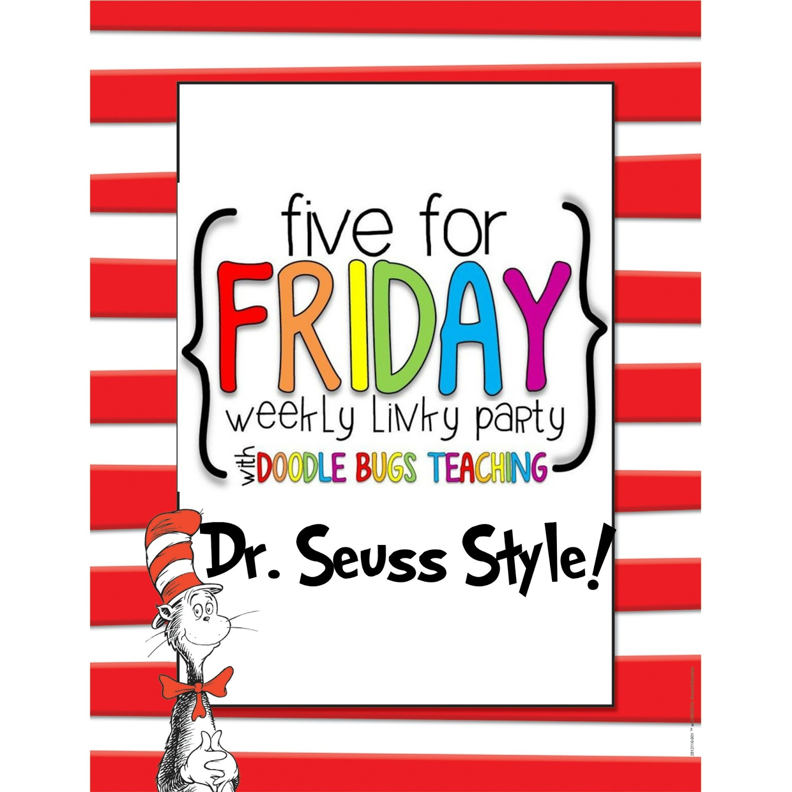 5 For Friday Dr Seuss Style