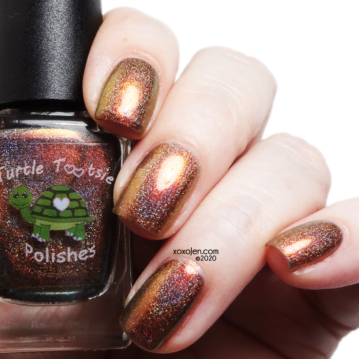 xoxoJen's swatch of Turtle Tootsie 5th Turtleversary