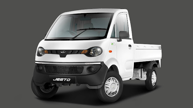 Mahindra Launches CNG Variant Of Its mini-truck 'Jeeto'