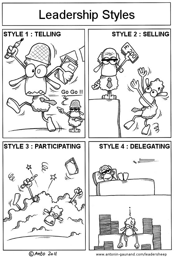 Edi Diwan Leadership Styles In Cartoon
