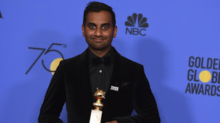 Spotlight : Indian origin Aziz Ansari won the best actor award at the Golden Globes