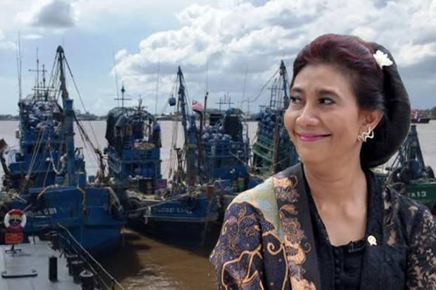 Menteri Susi: ada 700 Kapal Asing dari Berbagai Negara Yang Berhasil Ditahan!