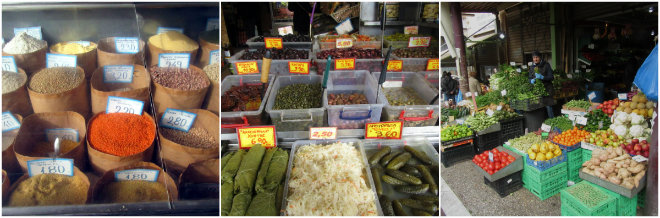 Athens, the ancient city of our past by Laka kuharica: spices, olives and vegetables