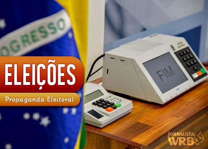 Propaganda eleitoral no Brasil. Imagem: Natan Cardoso/Blog WRB
