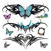 diseños de tatuajes de mariposas