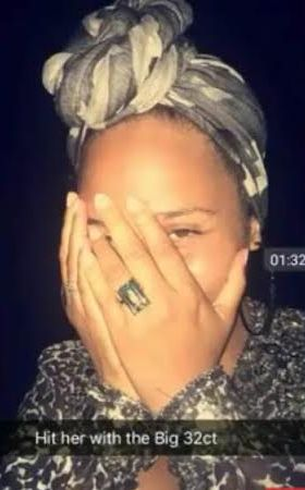 Alicia Keys shows off huge 32 carat diamond ring as she celebrates