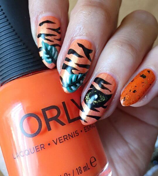 Truly Madly Beauty: Disney Nail Art Series - The Jungle Book Shere ...