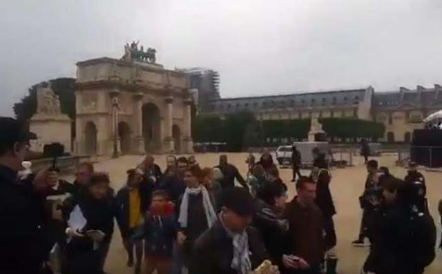 Γαλλία: Εκκενώθηκε το Λούβρο