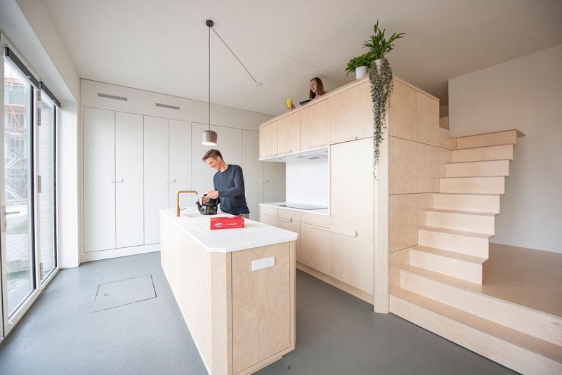 Loft pequeno e com projeto bem elaborado