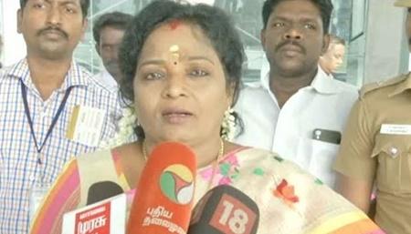 Why should Kamal Haasan announce in mid night? – Tamilisai Soundararajan | #KamalHaasan #Tamilisa