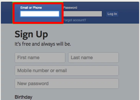 Facebook Login On PC
