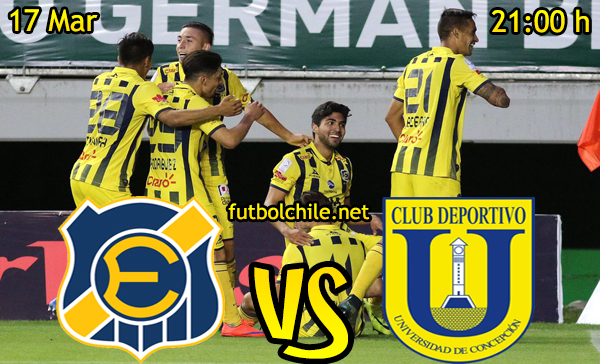 Ver stream hd youtube facebook movil android ios iphone table ipad windows mac linux resultado en vivo, online: Everton vs Universidad de Concepción