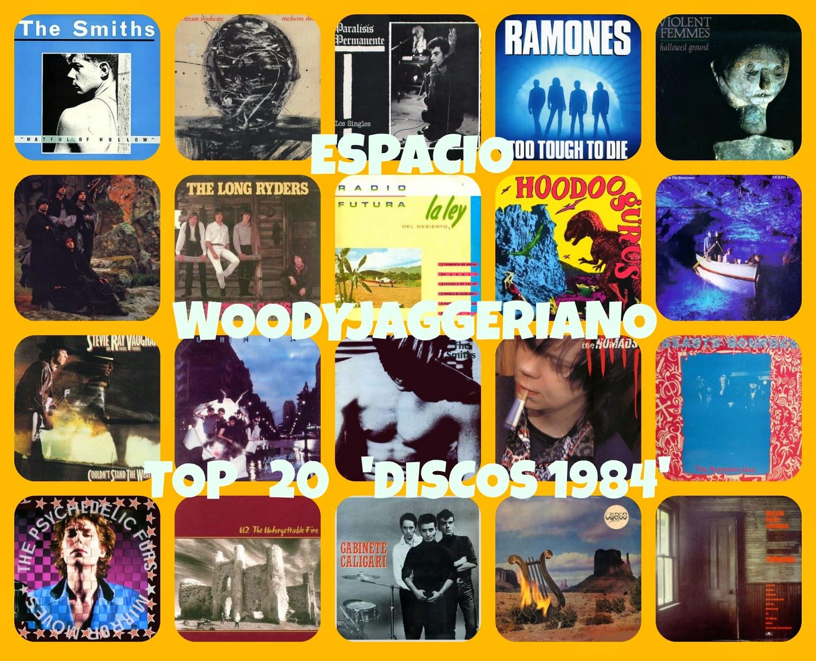 los mejores discos de 1984