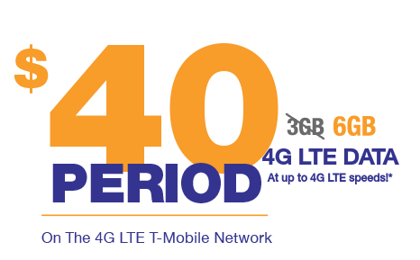 MetroPCS Ups Data on $40 Plan to 6 GB, Launches New Switcher and Add