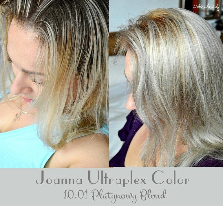 Joanna Ultraplex Color Platynowy Blond domowa koloryzacja recenzja