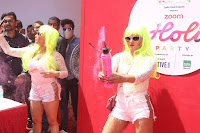 Bollywood and TV Show Celebs Playing Holi 2017   Zoom Holi 2017 Celetion 13 MARCH 2017 021.JPG