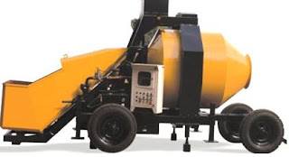 Mobile Concrete Mixer Machine from MACONS EQUIPMENTS