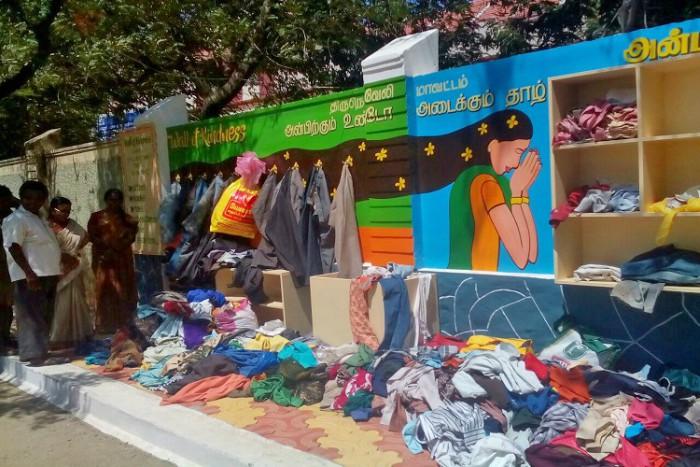 Tirunelveli Wall of Kindness #AtoZChallenge