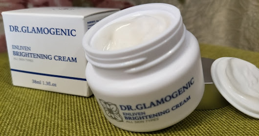 Glamogenic Enliven brightening Cream review