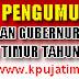 Iklan KPU Pendaftaran Pemilihan Gubernur dan Wakil Gubernur Jawa Timur Tahun 2018