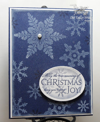 Our Daily Bread Designs Sparkling Snowflakes, Christmas Verses