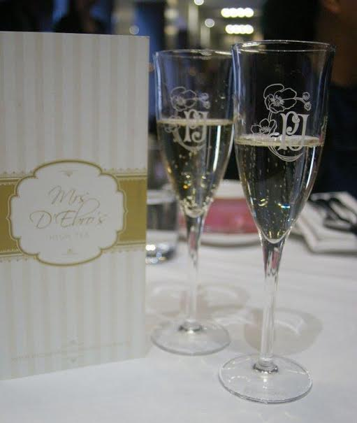 High Tea at the Intercontinental - Rialto: champagne