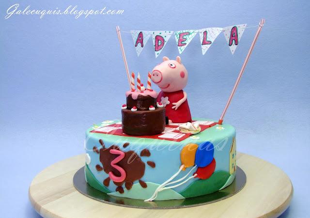 Tarta Picnic Peppa Pig