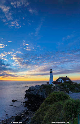 Maine photography Cape Elizabeth Lighthouse photo prints