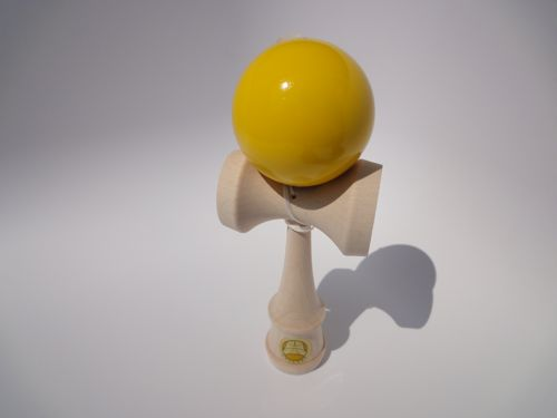 Yellow kendama
