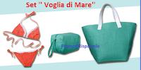 Logo In edicola o online il set ''Voglia di mare'': borsa, pochette e costume