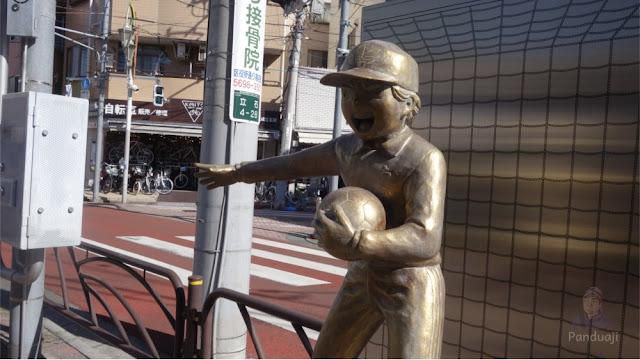 Patung Genzo Wakabayashi