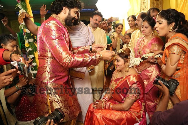 Actress Namitha Veera Wedding3